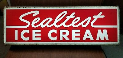 Vintage Sealtest Ice Cream Light