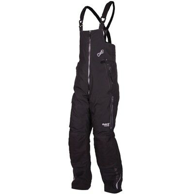 Motorfist Men's Redline Snowmobile Bibs 200g Insulated eVent Pants Black Stealth