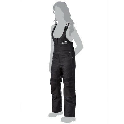 Arctic Cat Women's Premium A-Tex Thinsulate Snowmobile Bibs - Black - 5270-92_