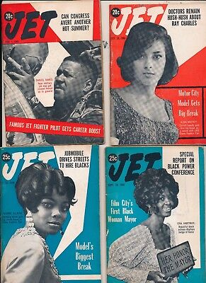 LOT (10) Jet Magazines 1960s no mailing labels  all different lot 5