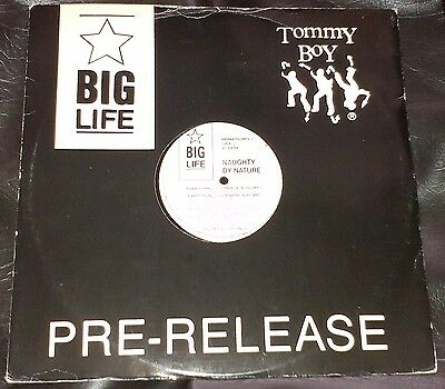 """Naughty By Nature – Everything's Gonna Be Alright 12"""" vinyl Big Life Hip Hop"""