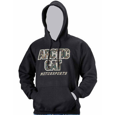 Arctic Cat Men's Arctic Cat Digital Camo Hoodie Sweatshirt - Black - 5259-56_