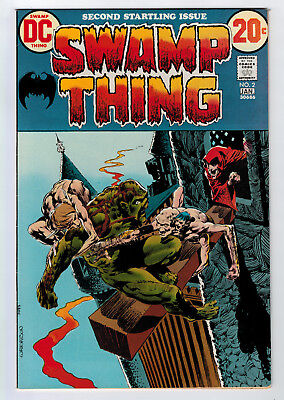Swamp Thing #2 8.5 High Grade Wrightson 1St Cameo Patchwork 1972 Off-White Pages