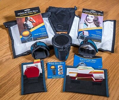 ExpoImaging Rogue FlashBender 2 Reflector and Softbox Kit w/ Flash Grid and Gels