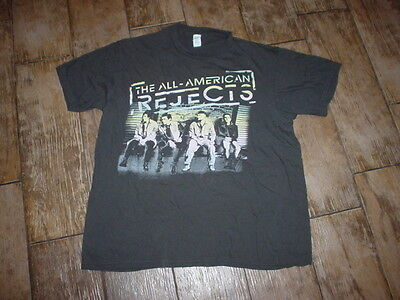 All American Rejects On Deck 2012 Concert Tour T-shirt Charcoal Gray Med Great
