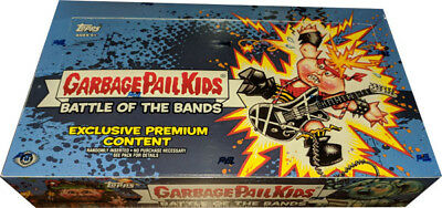 Garbage Pail Kids 2017 Series 2 Battle of Bands Factory Sealed Collectors Box