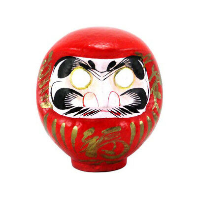 """Japanese Red Daruma Doll 6""""H Good Luck, Fortune Success /Made in Japan"""