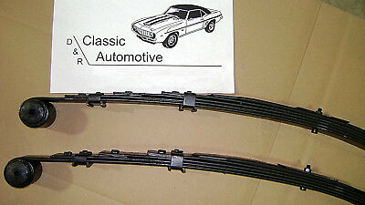 3 DAY SALE Leaf Springs Pair Camaro Firebird 67-81 5 Leaf  Multileaf  Nova 68-79