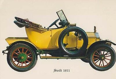 Swift 1911 Car Vintage Artist Drawing Picture Rare Postcard