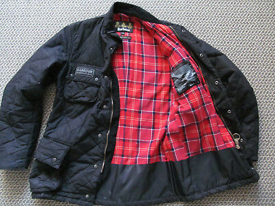 Barbour Quilted International Jacket  Small