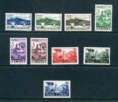 Comoros, 5 Hinged Sets, See Description For Scott Numbers, (Id6820)