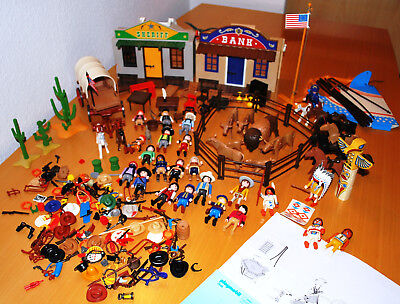 Playmobil *  Western / Cowboy / Indianer / Fort Eagle / Sheriff / Bank *