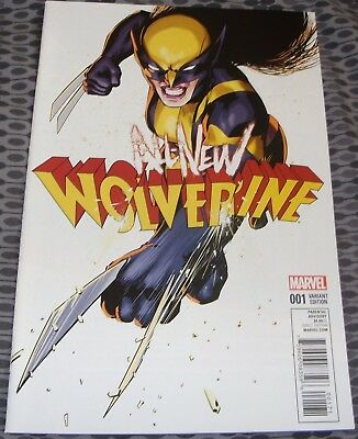 All New Wolverine No 1 Variant Cover From January 2016 Marvel Comic X-Men X-23
