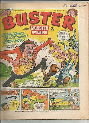Buster and Monster Fun 2nd April 1977