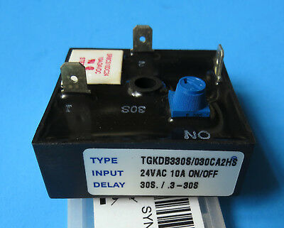 Airotronics USA TGKDB Cube Relay Repeat Cycle OFF / ON Timer NEW 10A 24VAC Delay