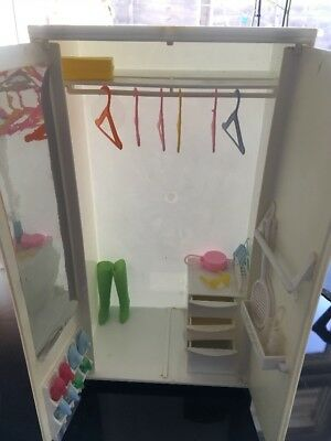 Vintage Barbie Doll Size Debenhams Wardrobe