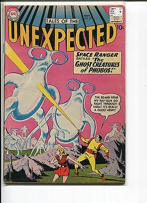Tales Of The Unexpected 55 Vg  Cardy   1960
