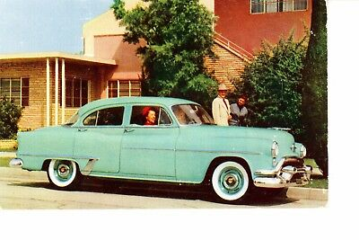 1953 Oldsmobile De Luxe 88  Advertising Postcard