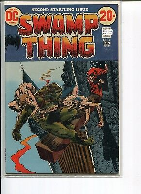 SWAMP THING 2 NM- 1st PATCHWORK MAN  WEIN/WRIGHTSON 1973