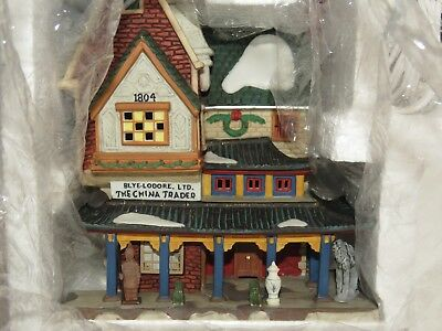 "Dept 56 Dickens Village ""The China Trader""  NIB"