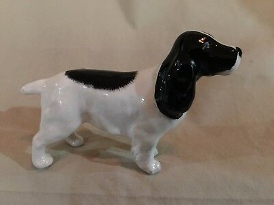 """Beswick of England Collectible - """"Black & White Spaniel"""" -  - Mint Condition"""