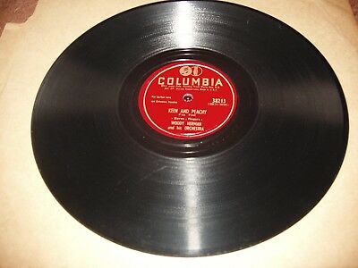 Woody Herman Orch Columbia Keen And Peachy/ Ive Got News For You