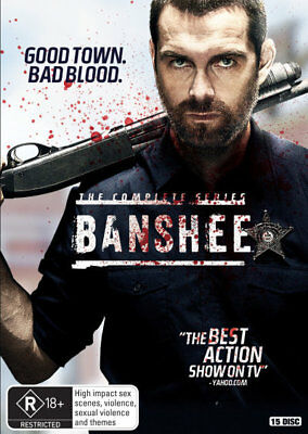 Banshee: The Complete Series = NEW DVD R4