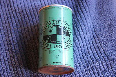 Vintage Whitman & Lord Extra Dry Beer (Shenandoah, PA) pull top beer can