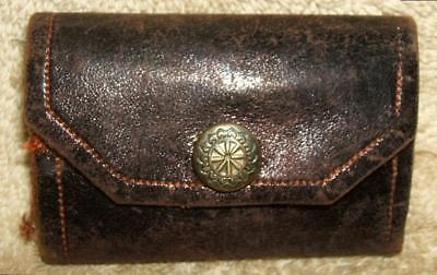 Late 1800's Leather Sewing Needle Case