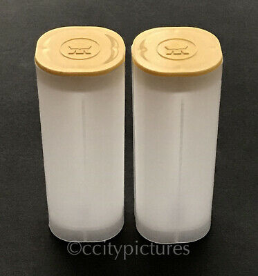 (2) Empty Canadian Silver Maple Leaf Coin Tubes Rolls