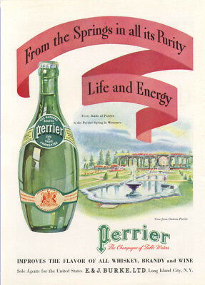 From the Springs in all its Purity Perrier ad 1934