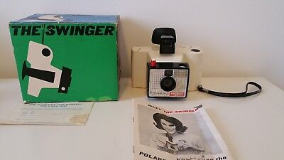Vintage Polaroid Land Camera - The Swinger - Model 20 - Used