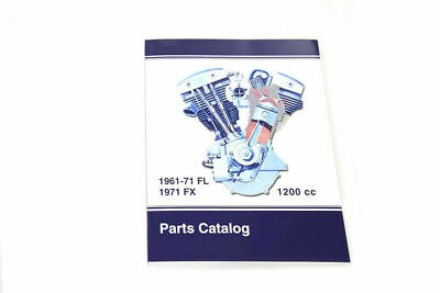Spare Parts Book for 1961-1971 Big Twin For Harley-Davidson