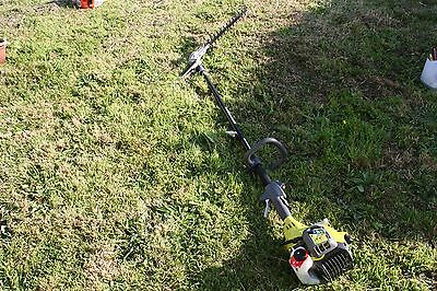 Ryobi 26cc Long reach hedge trimmer-just used Twice.