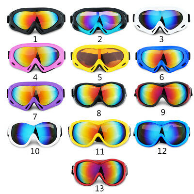 Outdoor Anti-fog UV Windproof Ski Glasses Climbing Goggles for Kids Children