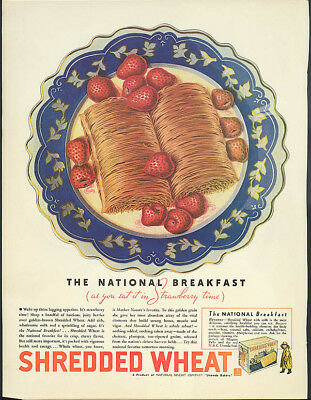 Nabisco Breakfast Shredded Wheat / Lucky Strike Your Best Friend ad 1935