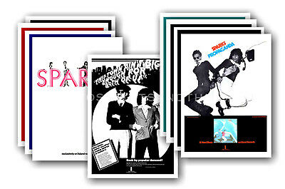 SPARKS - 10 promotional posters  collectable postcard set # 3