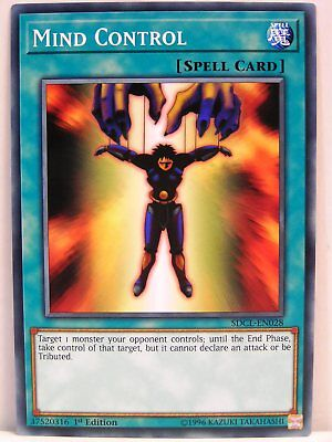 Yu-Gi-Oh - 1x #028 Mind Control - SDCL - Structure Deck Cyberse Link