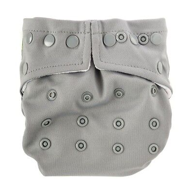 Bumkins Snap in One Diaper - Gray