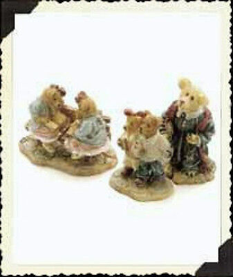 """Boyds Bearly Built Villages """"The Chapel in the Woods"""" #91503-1* 2000*New*Retired"""