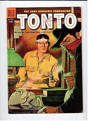 Dell The Lone Ranger's Companion TONTO #19 comic May-July 1955 FN- condition
