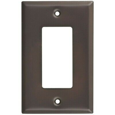 Single GFCI Wall Plate Oil Rubbed Bronze Pack Of 4