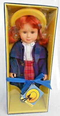 """18"""" Madeline doll 2003 Learning Curve FAO freckles red hair  NIB Rare"""