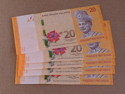 Malaysia 20 Ringgit Turtle Currency Note Choice Cu 2421J