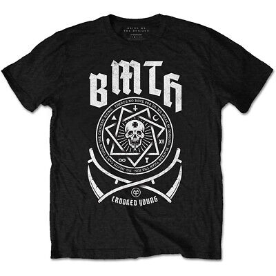 BRING ME THE HORIZON Crooked Young T-SHIRT OFFICIAL MERCHANDISE