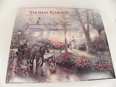 Thomas Kinkade Then & Now Remembering the Generations Genealogy Memory Book 1998