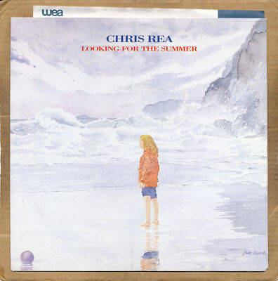 """7"""" Single - Chris Rea, Looking For The Summer"""