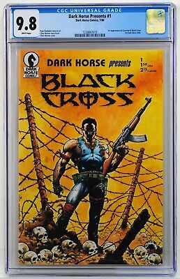 Dark Horse Presents #1 CGC 9.8 1st Concrete! Paul Chadwick 1st DARK HORSE COMIC!