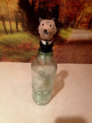 Silly Dog Wine Stopper - Cairn