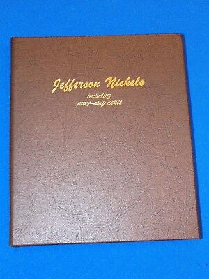 1938 - 2002 Jefferson Nickel Collection Dansco Album 139 Coins No Proofs 5 Cents
